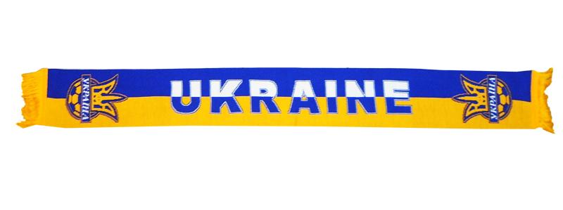 bbc0032315b2 Шарф сборной Украины по футболу - Футбольные шарфы - токка ...