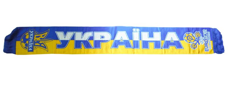 8857e634d277 Шарф Украина - Евро2012 - Футбольные шарфы - токка, металлист ...