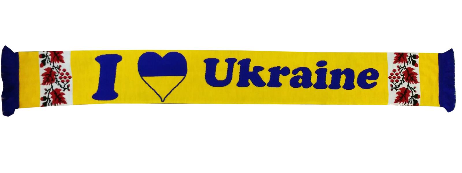 8701acafb3ed Шарф Украина (4) - Футбольные шарфы - токка, металлист, футбол ...