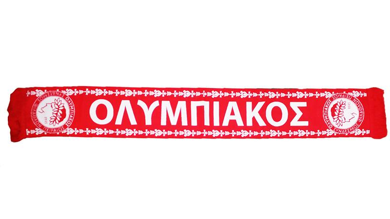 ccdc767d77a9 Шарф Олимпиакос - Футбольные шарфы - токка, металлист, футбол ...