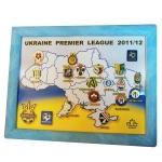 "Набор значков ""УПЛ 2011-12"""