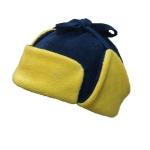 Ушанка сине-желтая
