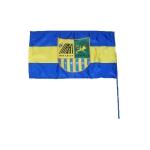 Флаг Металлист - полноцветный