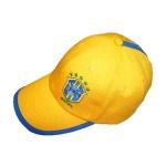 Бейсболка Бразилия - желтая