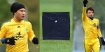 Футбольный шарф (воротник, снуд, buff ) - темно-синий