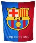 Футбольный плед Барселона
