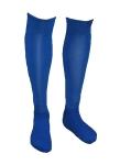 Футбольные гетры - синие