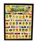 Значки сборных - Чемпионат мира 2014