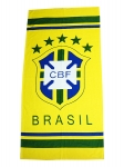 Футбольное полотенце Бразилия