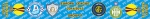 """Шарф группы Днепра в """"Лиге Европы 2014-2015"""""""