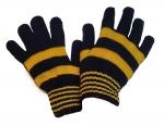 Детские перчатки желто - синие