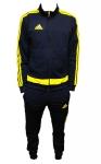 Спортивный костюм сине-желтый