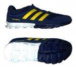 Кроссовки Adidas - сине-желтые