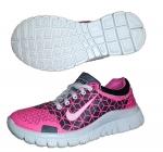 Кроссовки Nike розовые