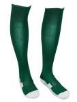Гетры зеленые с белыми полосками