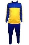 Спортивный костюм желто-синий