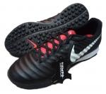 Кожаные сороконожки Nike Tiempo